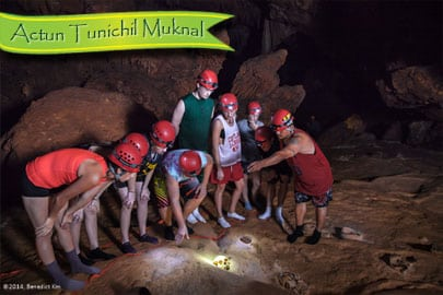 Group on Actun Tunichil Muknal Tour