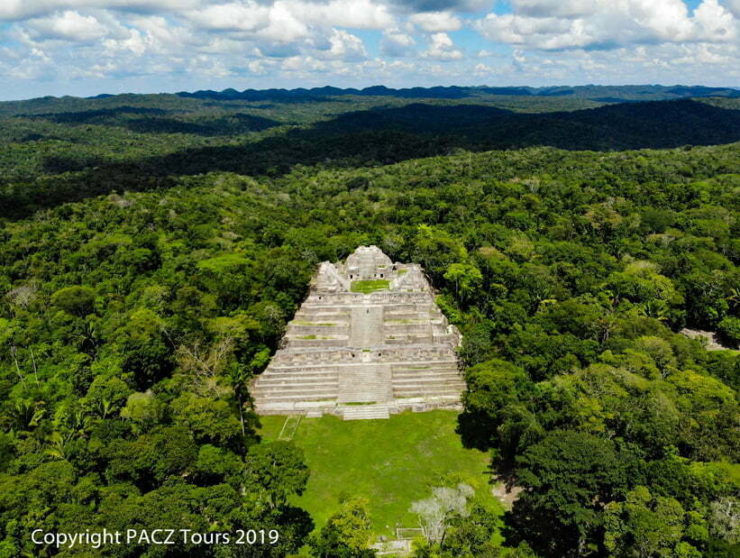 belize remote mayan ruin caracol