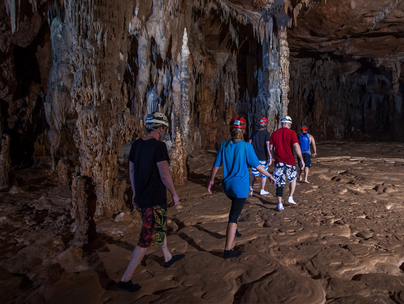 group-exploring-atm-cave